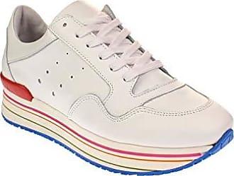 393fd5d011039a Tango MARIKE 12-E - Damen Schuhe Plateau-Sneaker - White-Multi-