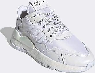 adidas Originals Nite - Weiße Lauf-Sneaker