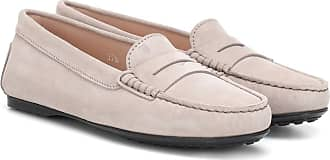 Tod's Gommino City suede loafers