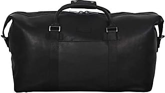 Kenneth Cole Reaction Kenneth Cole Reaction I Beg To Duff-er Colombian Leather 20 Single Compartment Top Zip Travel Duffel Bag, Black