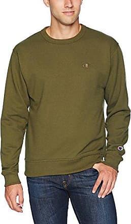 Champion Mens Powerblend Fleece Pullover Sweatshirt/_Granite Heather