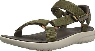 Teva Mens Sanborn Universal Sports and Outdoor Lifestyle Sandal, Green (Olive),10 UK (44.5 EU)