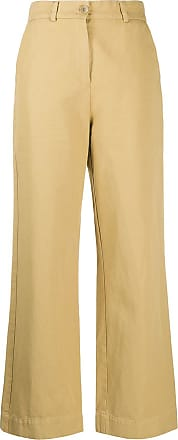Ymc You Must Create wide-leg trousers - Yellow