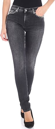 7 For All Mankind Black Pyper jeans with studs