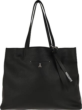Patrizia Pepe Logo Shopping Bag Nero Shopper schwarz