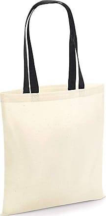 Westford Mill Bag 4 Life Contrast Handle-W101C-Natural/Black-O/S