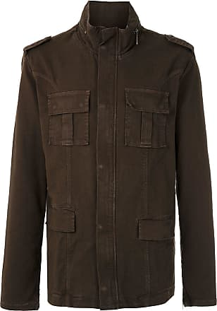 Osklen militar parka coat - Brown