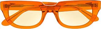 Han Kjobenhavn Armação de óculos retangular - Laranja