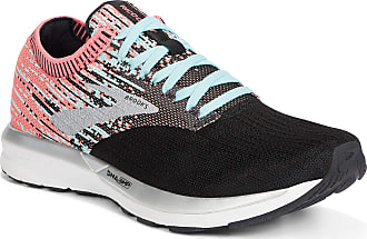 Brooks Womens Ricochet Running Shoes, Coral/Blue/Black - 5.5 UK