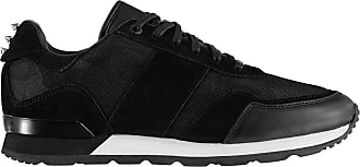 Firetrap Womens Crescent Trainers Runners Lace Up Low Profile Black/White UK 4 (37)