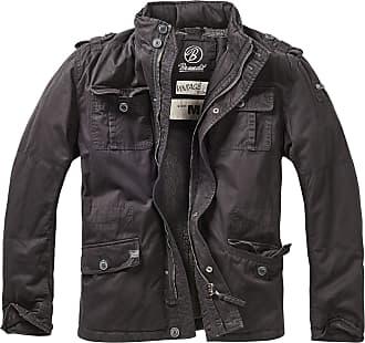 Brandit Britannia Jacket - Black - XXXXX-Large