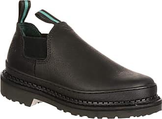 Georgia Georgia Giant Romeo Work Shoe - Black, Size 15 Wide, Model GR270