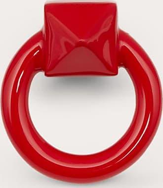 Valentino Garavani Valentino Garavani Mono Orecchino Ringstud Donna Rouge Pur OneSize