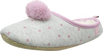 Joules Womens Mitsy Open Back Slippers, Grey (Grey Spot Greyspt), S 36/37 EU