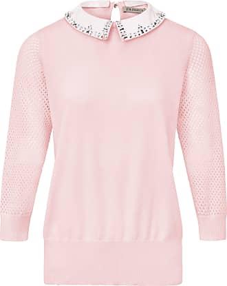 Uta Raasch Pullover a removable collar Uta Raasch pale pink