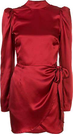 Reformation Vestido slim Josefine - Vermelho