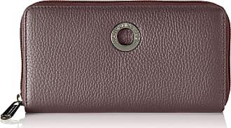 Mandarina Duck Womens Mellow Leather Portafoglio Purse, 2x10x19 cm Purple Purple (Vineyard Wine)