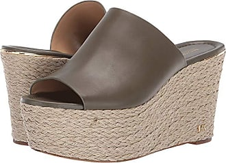 Michael Kors Cunningham Wedge (Olive Vachetta) Womens Shoes