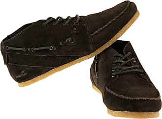 2f85c59652154c Boxfresh Womens Trainers Black BLACK dark brown suede - crepe sole Size  11