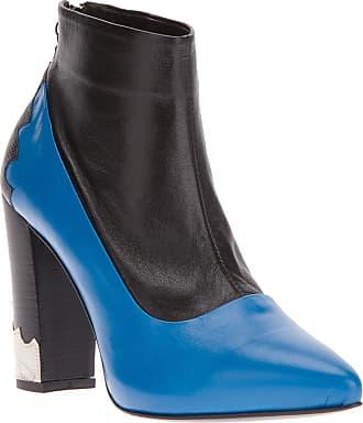 Toga Archives Ankle boot azul e preta