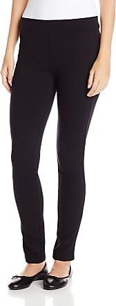 NYDJ Womens Jodie Ponte Legging, Black, 0