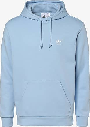 adidas Fleece Pullover mit Logo Stickerei