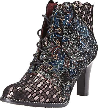 Laura Vita Womens Alcbaneo 1279 Ankle Boots, (Noir Noir), 7 UK