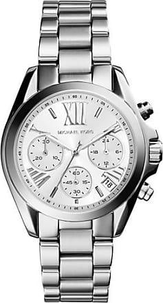 Michael Kors Mini Bradshaw Silver-Tone Watch