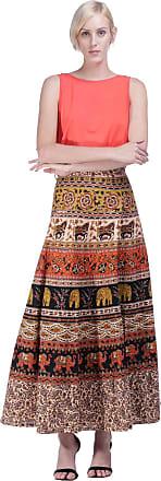 Amazônia Vital Saia Longa Amazonia Vittal Transpassada Jerez Etnica Brown Gênero:Feminino;Cor:Marrom;Tamanho:Único
