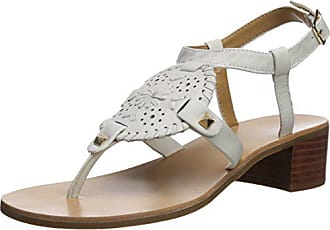 c2cb9581904 Delivery  free. Jack Rogers Womens Gretchen Heeled Sandal White 9 Medium US