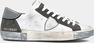 Philippe Model Sneakers - Prsx Mixage - Blanc Anthracite