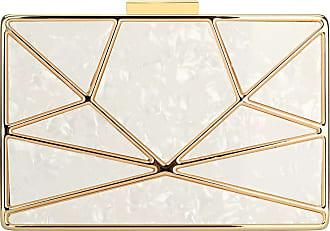 YYW Stylish Handbag Evening Box Bag Charming Clutch Bag Elegant Cocktail Party (White)
