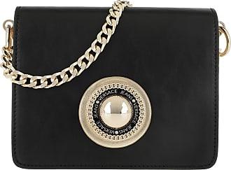 dfb20a87ce Versace Jeans Couture Emblem Crossbody Bag Black Umhängetasche schwarz