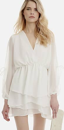 Sugarfree White long sleeved short dress