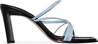 Wandler Joanna 85mm mules - Preto
