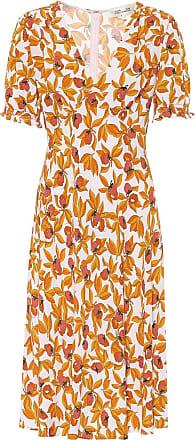 Diane Von Fürstenberg Bedrucktes Kleid Idris aus Crêpe
