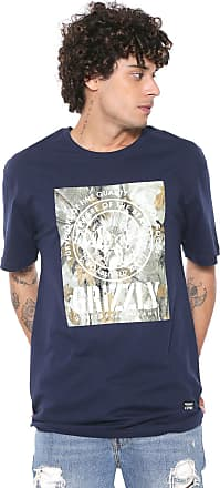 Grizzly Camiseta Grizzly Terrain Azul-marinho