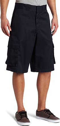 Dickies mens13 Loose Fit Twill Cargo Short Work Utility Shorts - Blue - 34