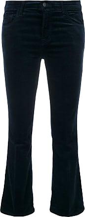 J Brand Calça jeans flare cropped - Azul