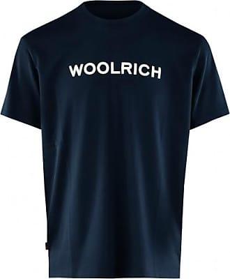 Woolrich Logo Tee WOTE0024 Melton Blau - Extra Large