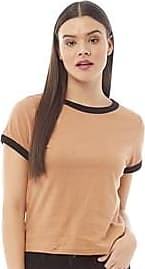 Brave Soul short sleeve jersey t-shirt with contrast neck and sleeve detail