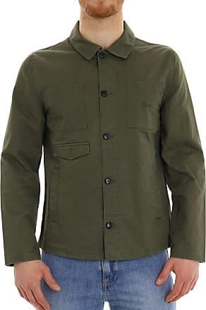 Revolution (RVLT) Revolution Mens SAHARIANA Jacket - Green - M