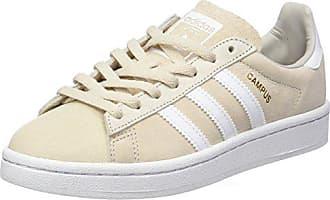 sale retailer fc7f6 d0889 adidas Campus, Scarpe da Ginnastica Basse Donna, Beige (Clear Brownftwr  White