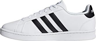 adidas Grand Court Sneaker Herren in ftwr white, Größe 42 2/3