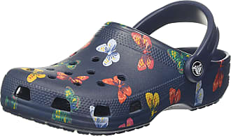 Crocs Classic Vacay Vibes Clog, Unisex Adults, Multicolour (Butterfly 92z), M9/W10 UK (43/44 EU)