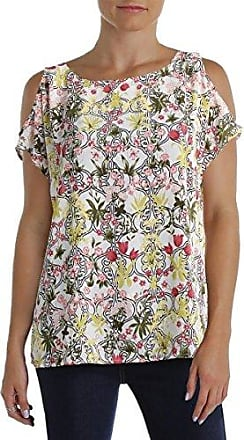 Nine West Black Cherry Multi Top Blouse Size M Casual Women/'s New*