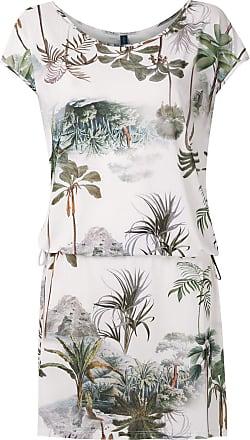Lygia & Nanny Shiva Jerseykleid mit Print - Weiß