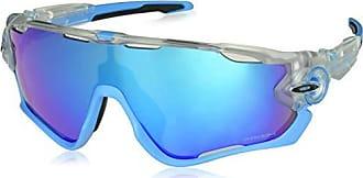 42b07b365de3e Oakley Mens Jawbreaker Non-Polarized Iridium Rectangular Sunglasses Crystal  Pop 0 mm