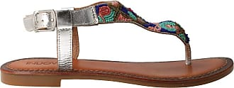 Inuovo 7233 - Sandal Beaded Multicolour for Women Silver Size: 7 UK
