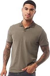Selected short sleeve open placket polo